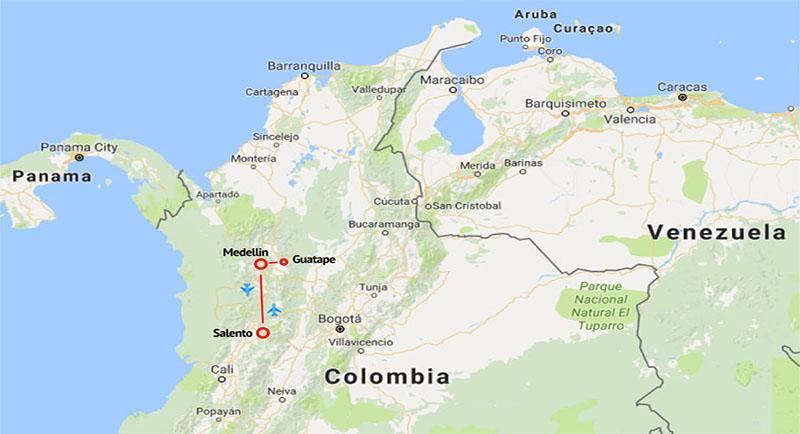 Coffee-region-map