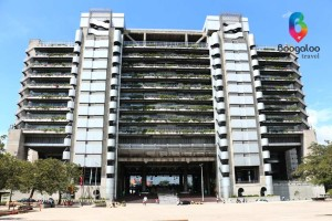 EPM Inteligent building in Medellin Colombia Boogaloo Travel