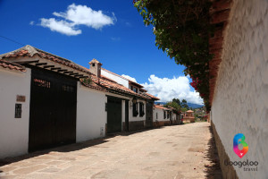 Street in Villa de Leyva Boogaloo Travel
