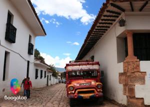 Chiva en Villa de Leyva Colombia Boogaloo Travel