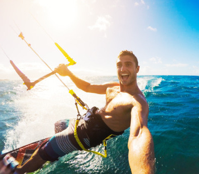 kitesurfing trip - Adventure travel in Colombia